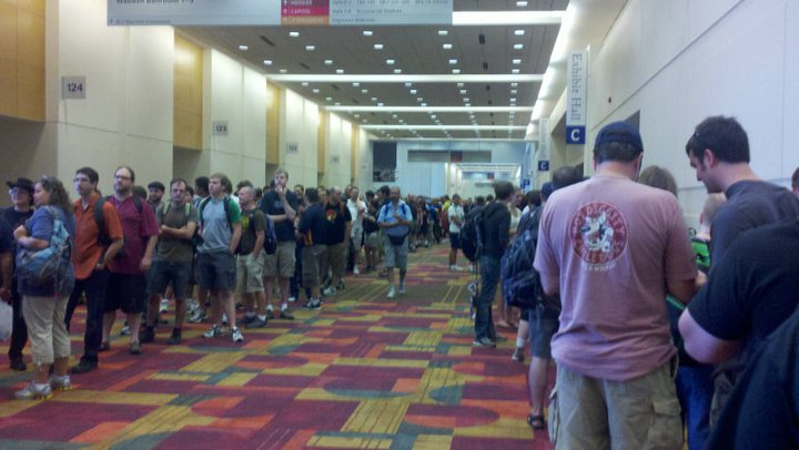 Gigantic line is gigantic...