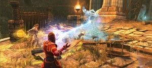 A control wizard from neverwinter in action.