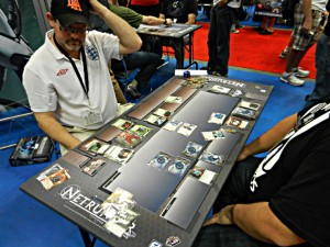 Fantasy Flight demo table at GenCon, they are everywhere!