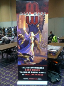 Mage Wars at the board games library