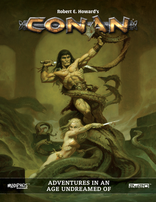 Modiphius's Excellent Conan RPG