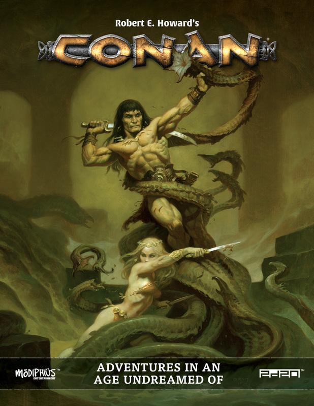 Modiphius's Excellent Conan RPG